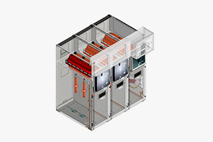 metal-enclosed , metal-enclosed switchgear , RMU , ring main unit , compact switchgear , medium voltage switchgear , MV switchgear , distribution substation , modular switchgear ,  , ComLink